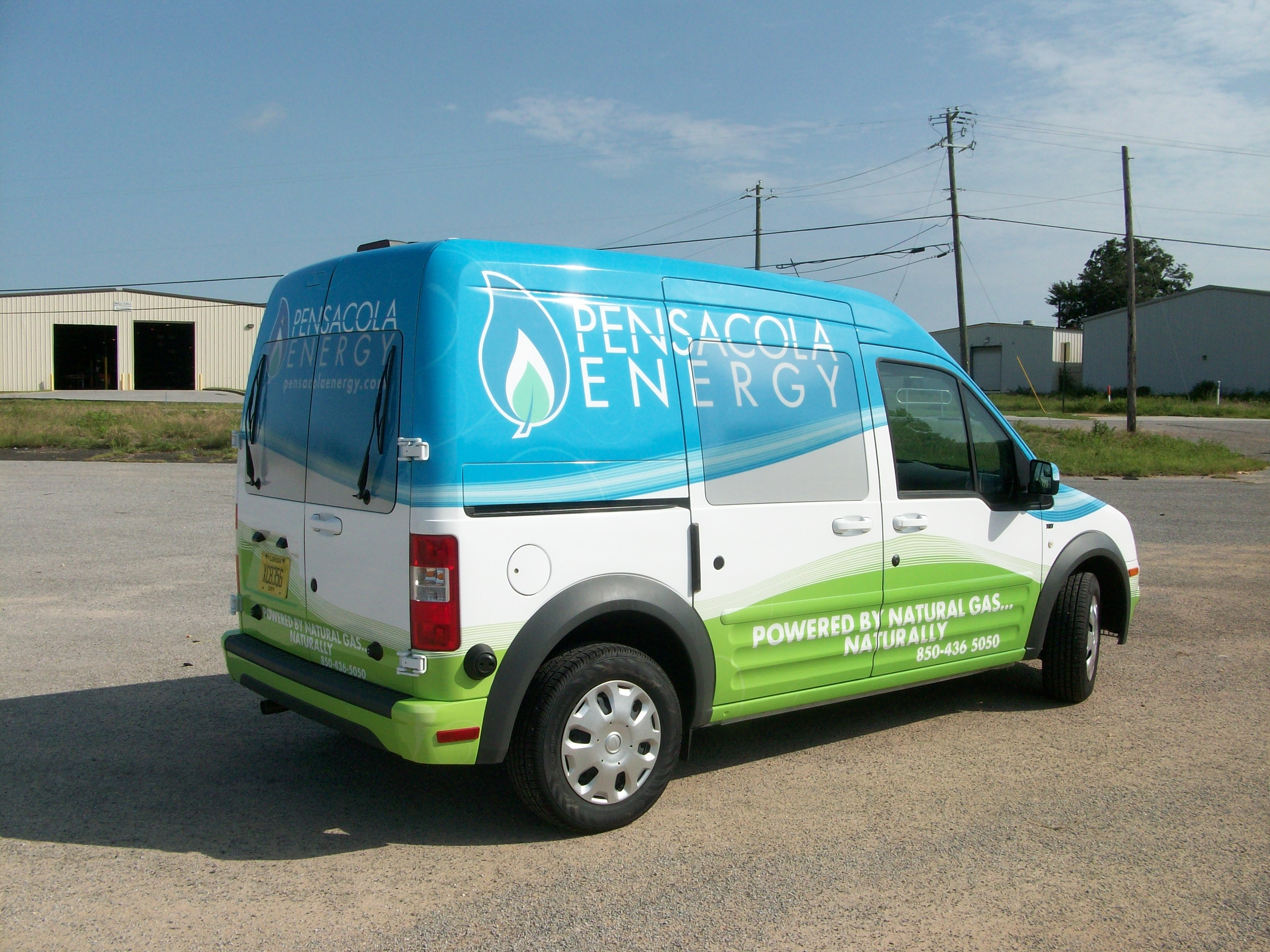 Pensacola Energy Vehicle Wrap