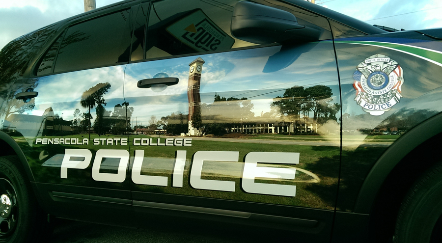 Vehicle Wrap for Pensacola State College Police SUV