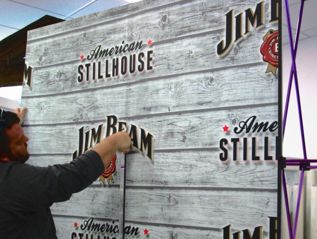 Jim Beam Trade Show Exhibit Display