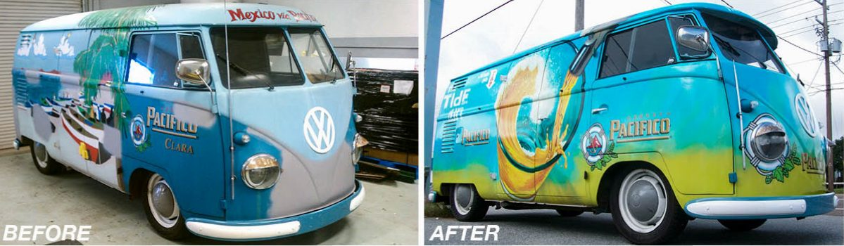 VW Bus Wrap