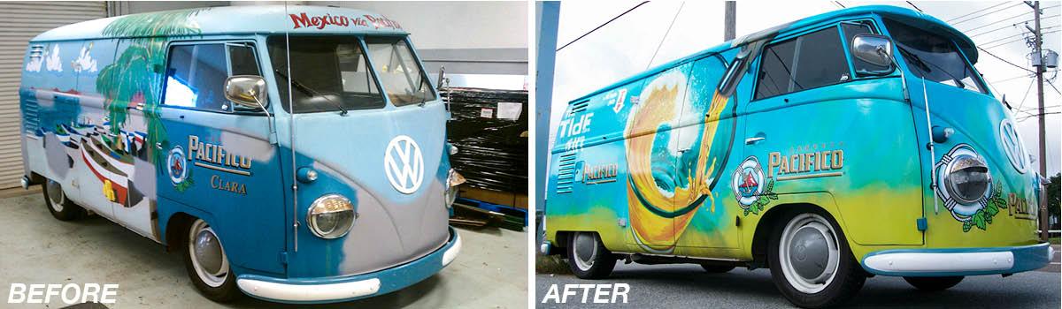 VW Bus Wrap