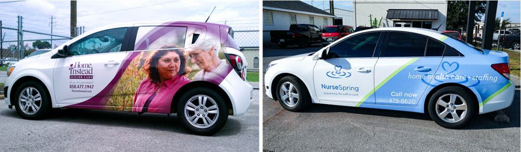 Vehicle graphics by Pensacola Sign