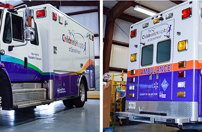509Emergency Transport Colorchange Wrap