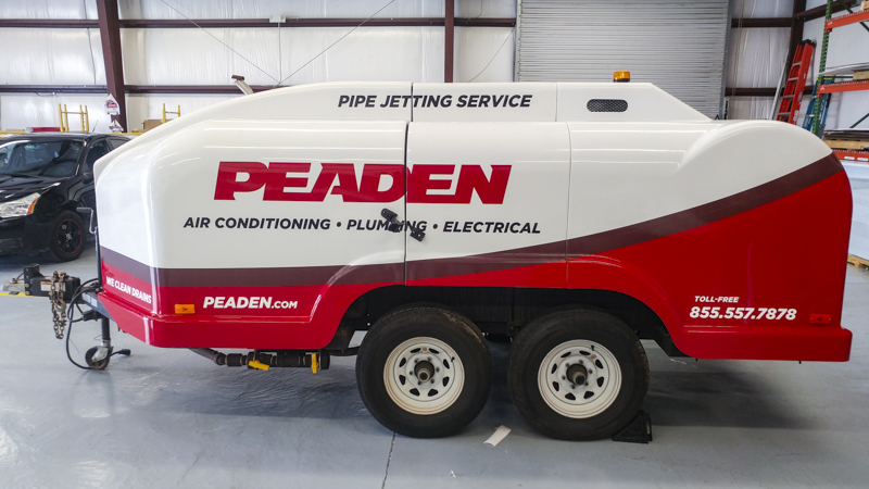 Pensacola Sign - Fleet Wrap for Peaden