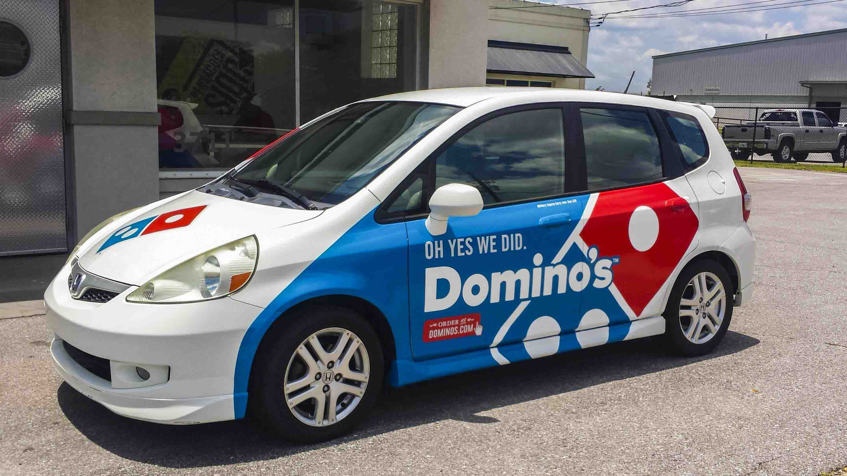 Pensacola Sign - Vehicle Graphics - Graphics for Domino's Pizza