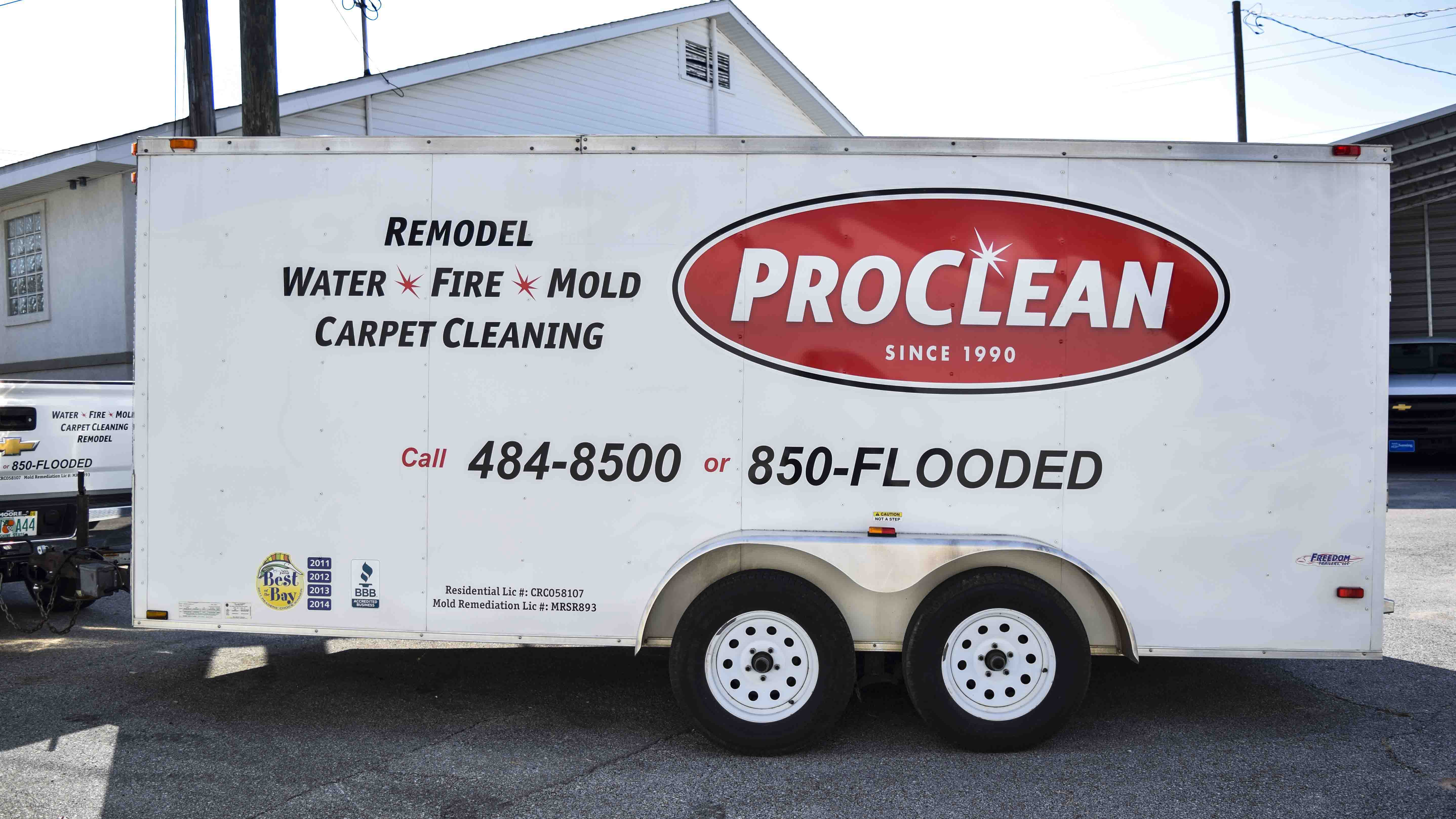 Pensacola Sign - Vehicle Graphics - Graphics for ProClean