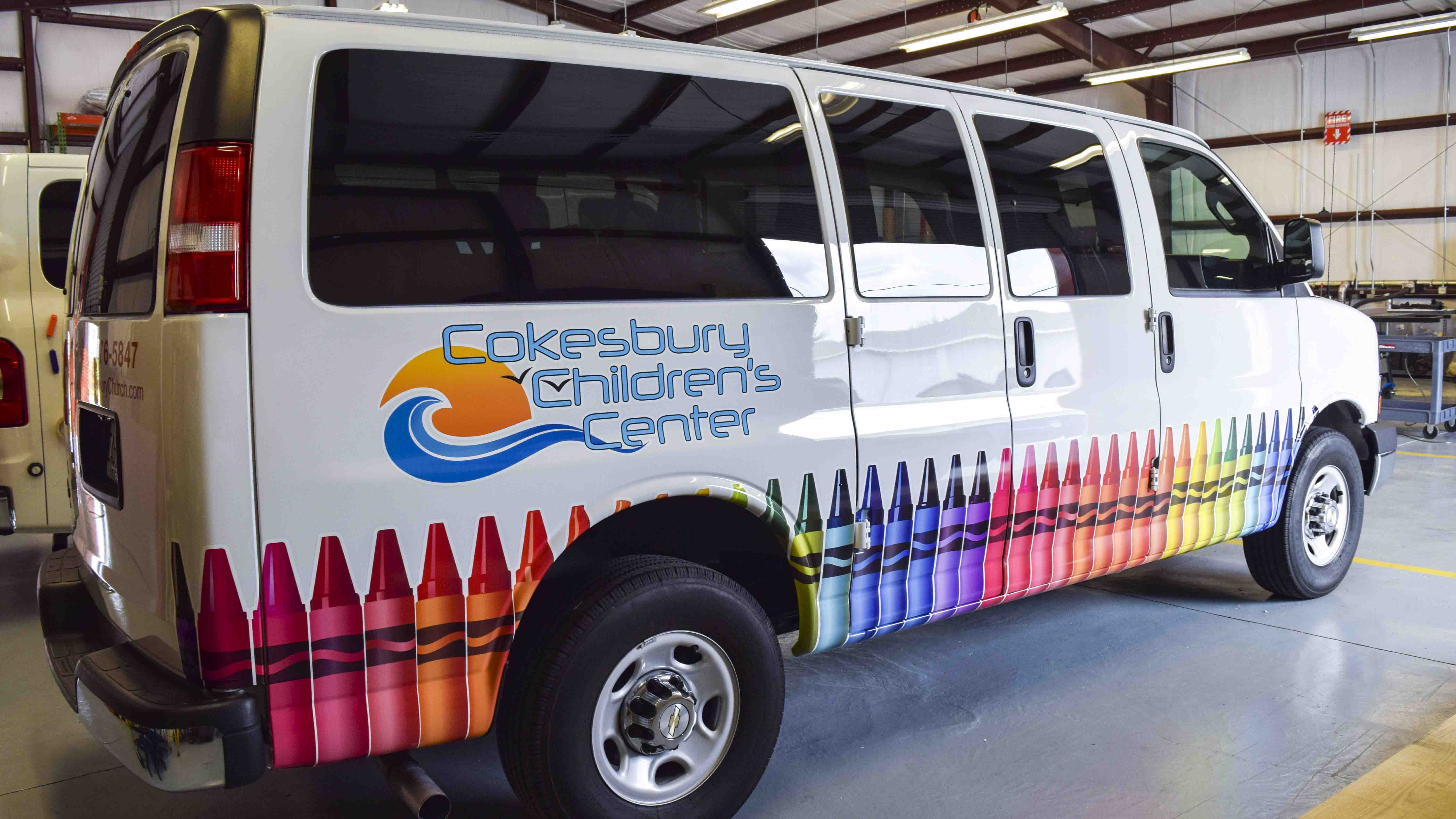 Pensacola Sign - Vehicle Graphics - Graphics for Cokesbury Children's Center