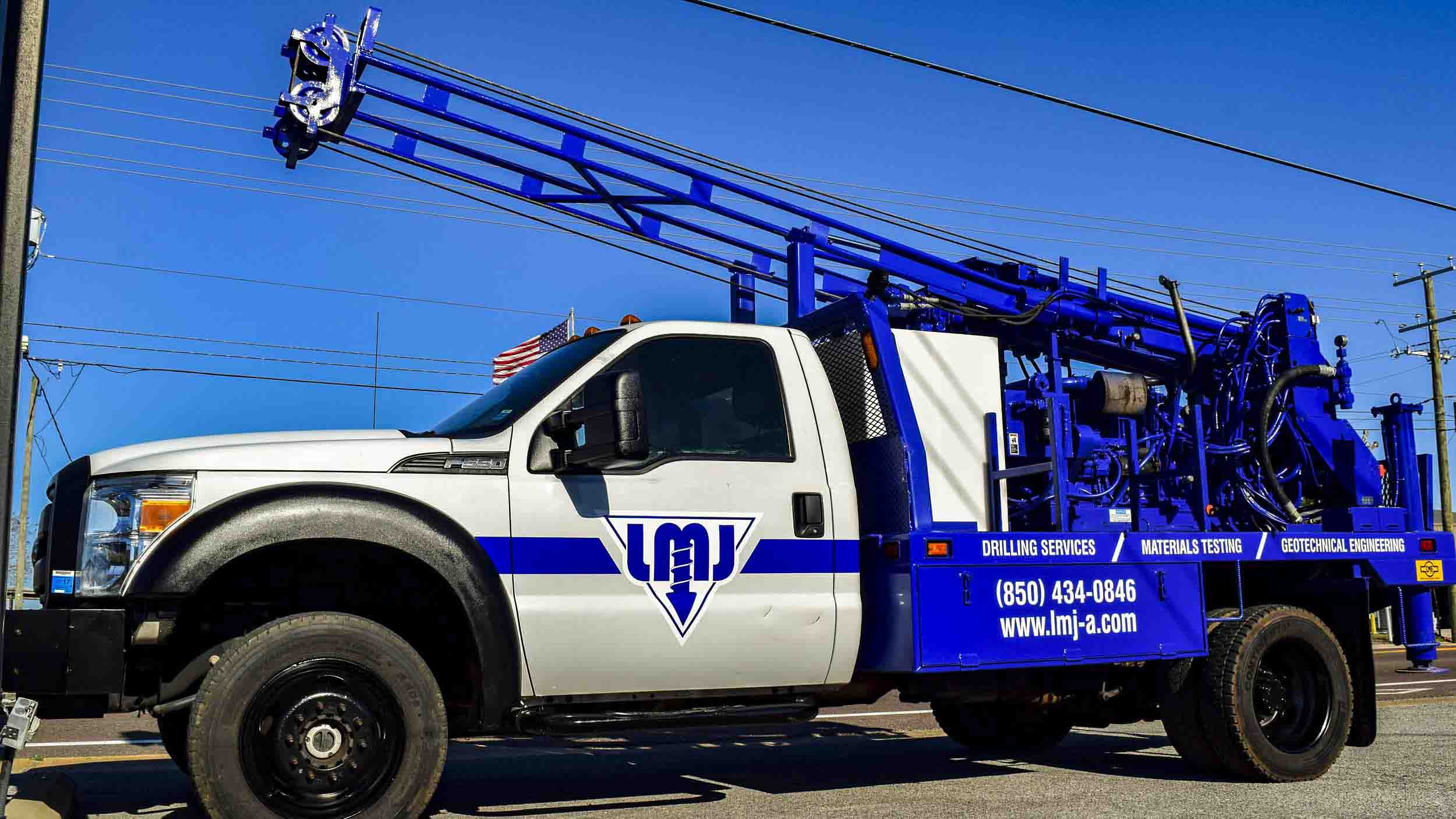 Pensacola Sign - Vehicle Graphics - Graphics for LMJ Engineering