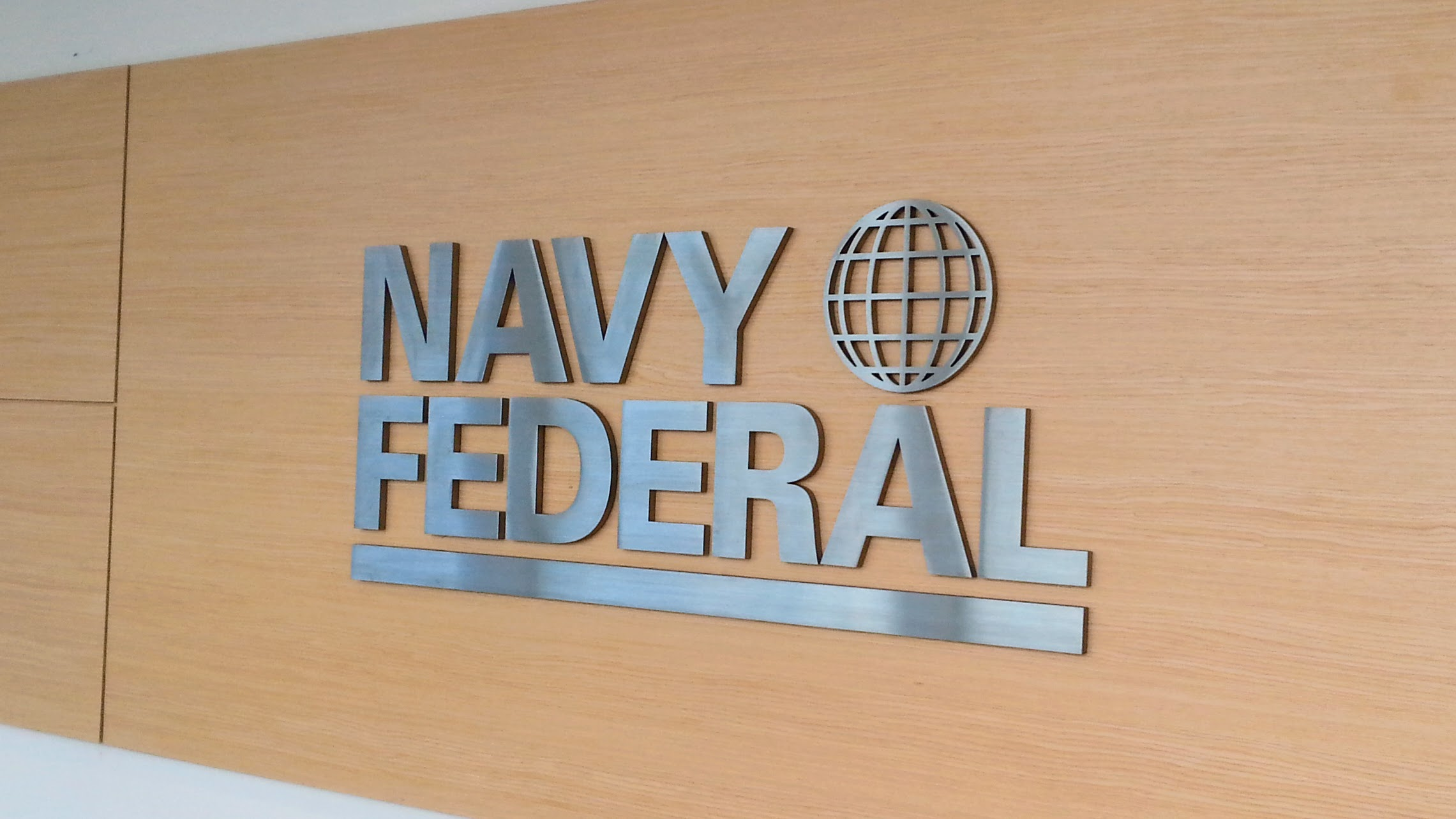 Architectural signage for Navy Federal by Pensacola Sign