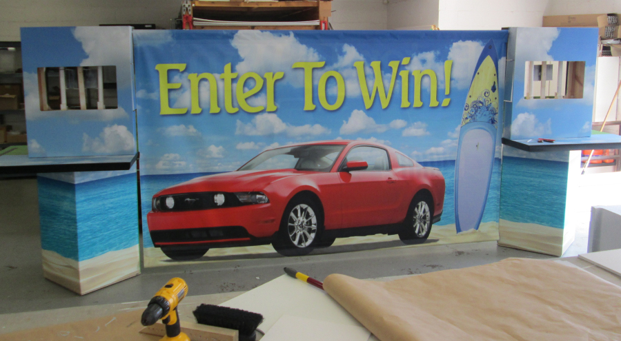 Promotional Trade show Exhibits by Pensacola Sign