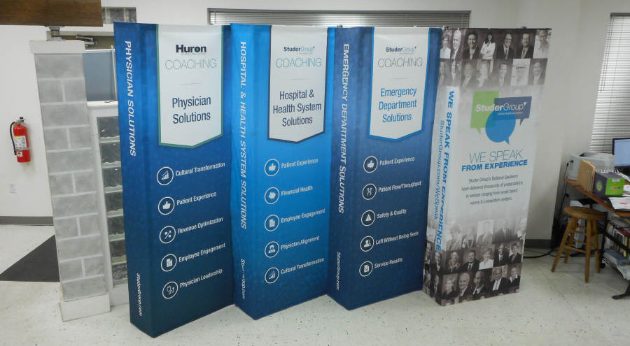 Custom Trade show exhibits by Pensacola Sign