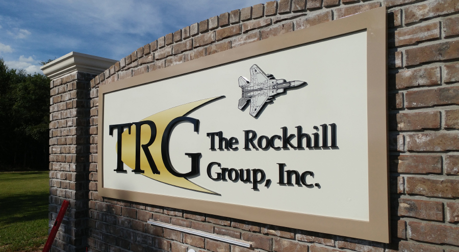 The Rockhill Group, Inc. Dimensional Lettering Pensacola Sign