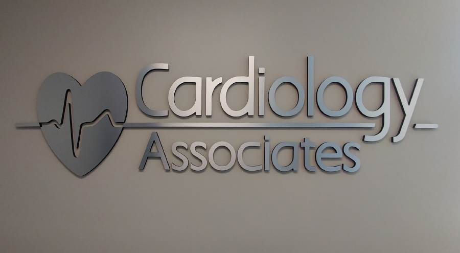 Cardiology Associates Corporate Identity Signage by Pensacola Sign