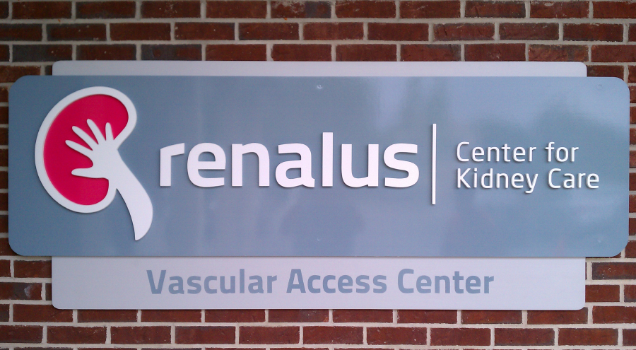 Medical Facility Corporate Identity Signage by Pensacola Sign