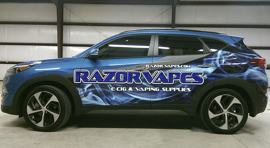 Vehicle Wrap by Pensacola Sign