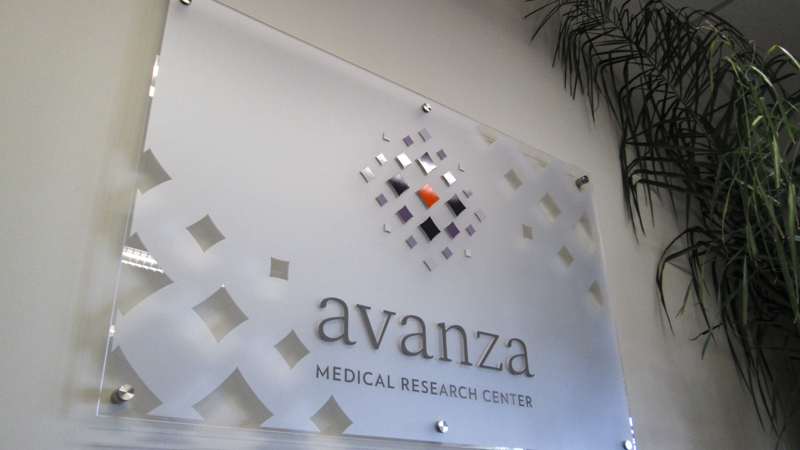 Avanza interior corporate identity signage by Pensacola Sign