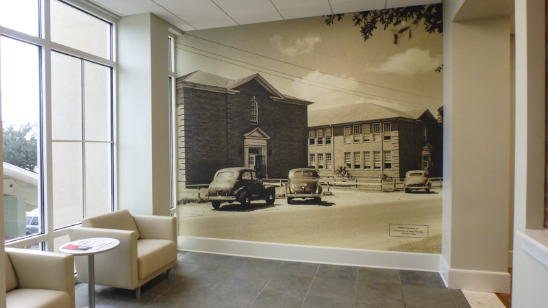 Community Health of NWF wall wraps - Pensacola Sign Environmental Graphics