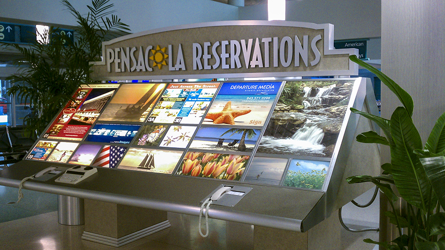 Custom Display by Pensacola Sign