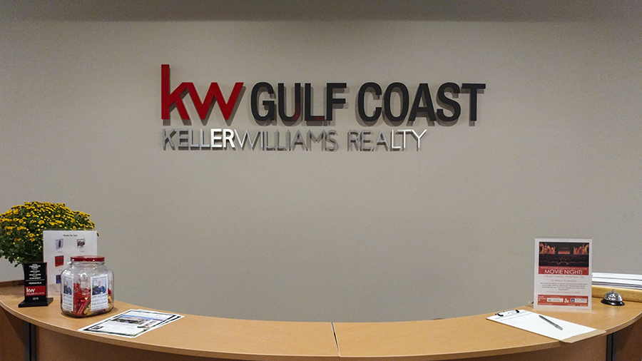 Dimensional Lettering Signage by Pensacola Sign