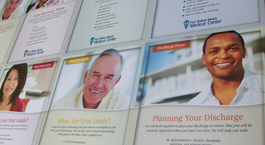 Medical custom posters by Pensacola Sign