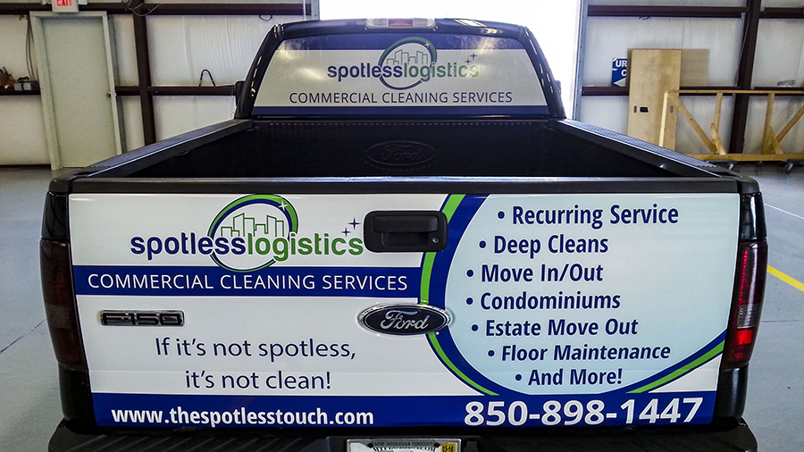 Partial Vehicle Graphics by Pensacola Sign