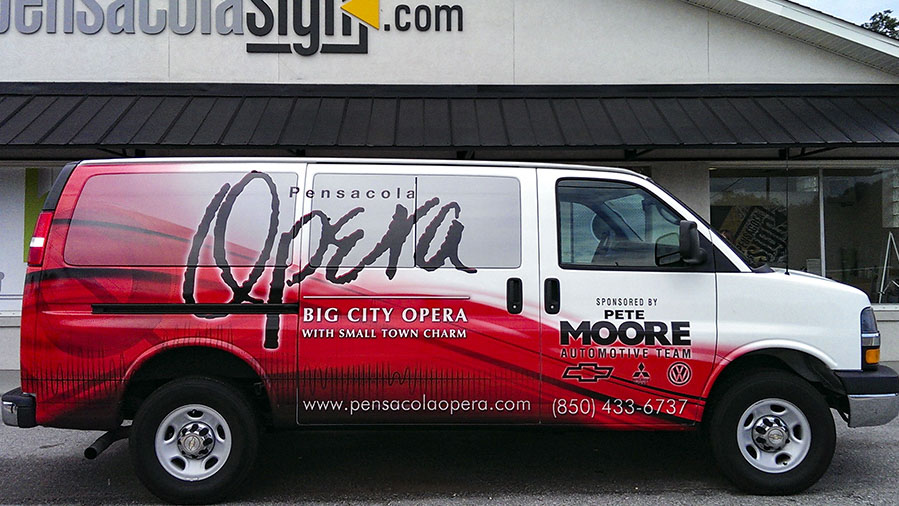 Vehicle Wraps by Pensacola Sign
